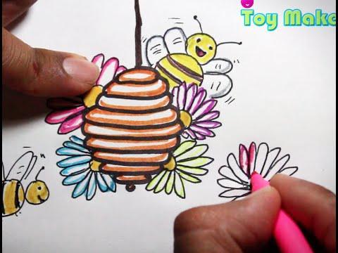 Cómo dibujar una abeja. Dibujos para niños de YouTube · Duración:  1 minutos 50 segundos  · Más de 69.000 vistas · cargado el 10.01.2013 · cargado por ManualidadesGI