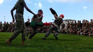 Top Marine Corps Pugil Stick Fights 2018