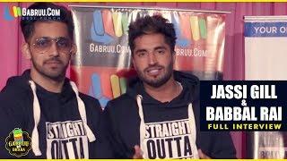 Jassie gill   babbal rai   full interview   crossblade 2017   gabruu.com