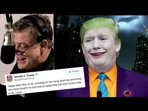 Thumbnail: Mark Hamill Reading Donald Trump's Tweets As The Joker Is Terrifying