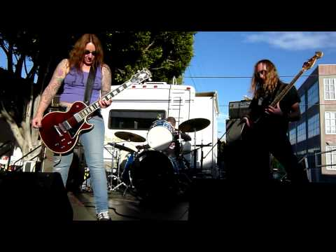 Acid King play Electric Machine at The Homestead Block Party SF  November 13, 2010