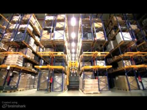 Warehouse Navigation - Jungheinrich RFID Technology
