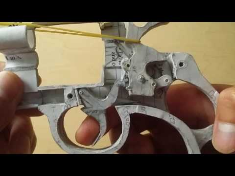 Paper Colt Python Update #2: Basic Trigger Mechanism