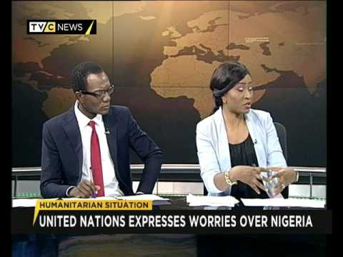 Edward Kallon speaks on Humanitarian Issues in Nigeria
