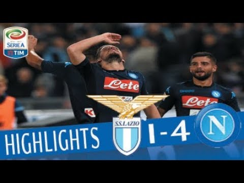 Lazio - Napoli - 1-4 - Highlights - Giornata 5 - Serie A TIM 2017/18