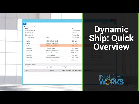 Integrated Shipping for Dynamics NAV - Insight Works