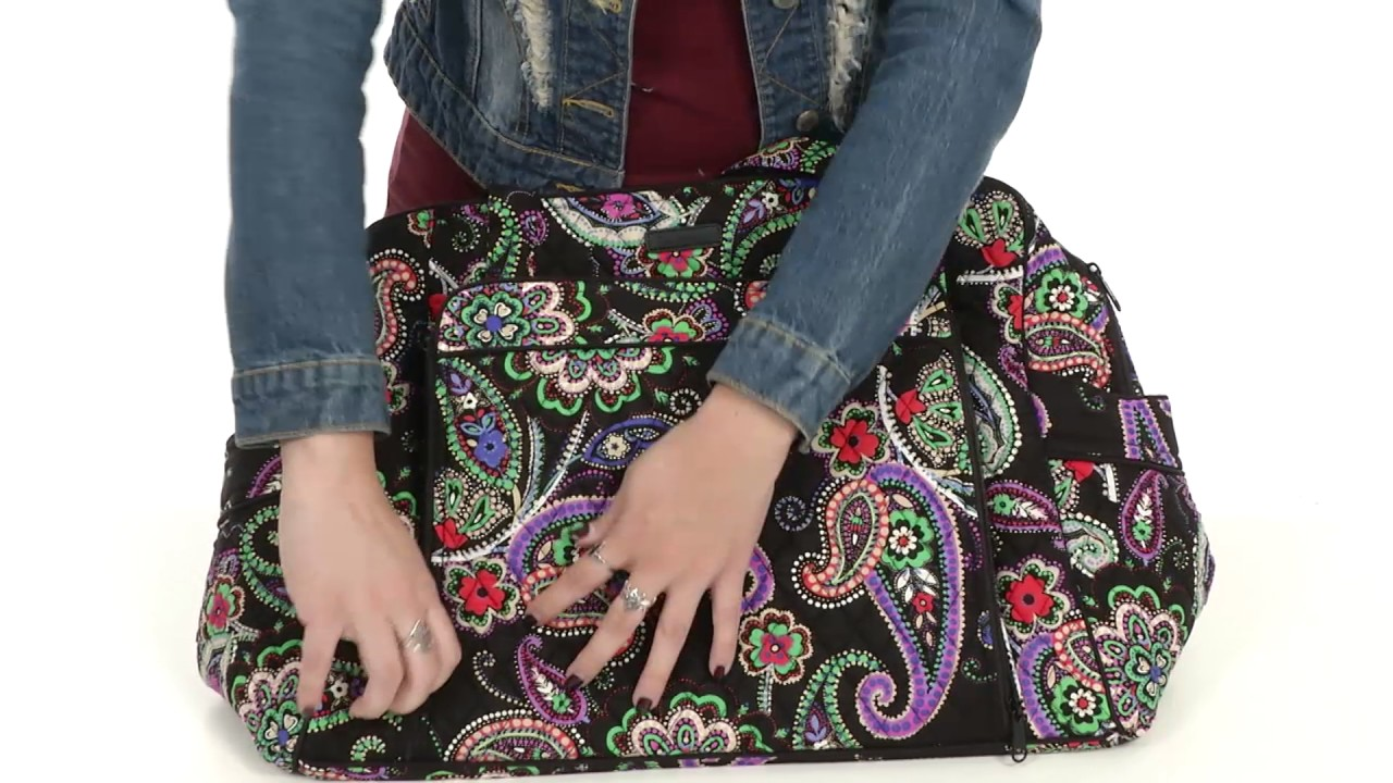 Vera Bradley Luggage Large Stroll Around Baby Bag Sku 8842237