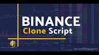 Binance Clone Script - To Start Crypto Exchange Like Binance
