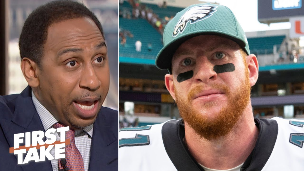 Carson Wentz is asked to do more than Nick Foles ever was - Stephen A.   First Take