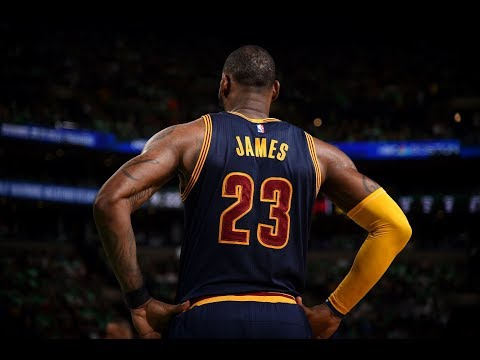 LeBron James (35/8/8) Passes Michael Jordan on All-Time Playoff Scoring List | May 25, 2017