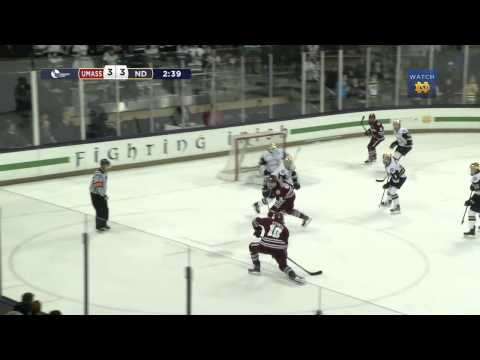 HKY - UMASS Hockey East Tournament Highlights
