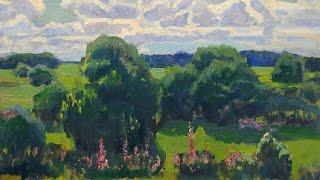 Summer Motives in Painting (1950-1990s). Leningrad School. Part 2