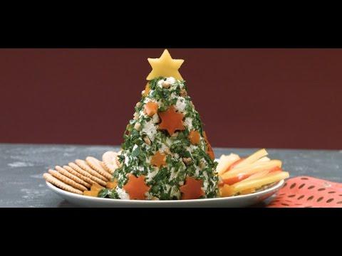 Tannenbaum Rezept.Frischkäse Tannenbaum