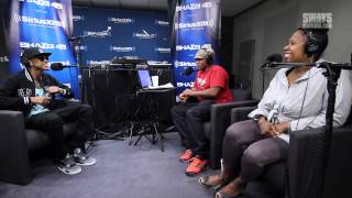 """August Alsina on Being Homeless and Performs """"Downtown"""" on Sway in the Morning"""