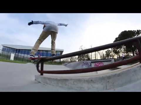 Luc Lulka & Hugo Dubief / Skatepark Caudéran