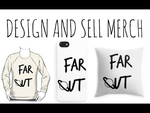 ❤️How to Design and Sell Merchandise | FREE!