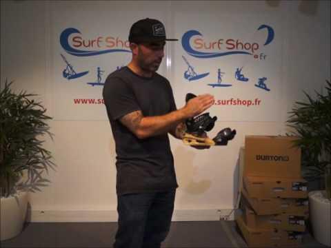 Fixations Burton 2017 - SURFSHOP.FR