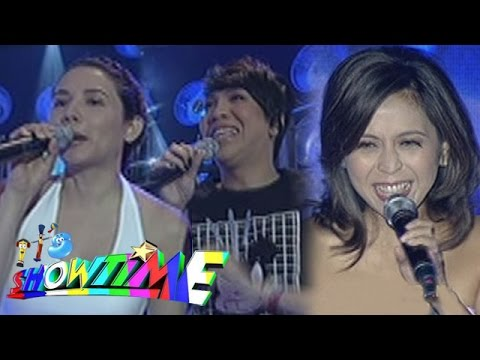 It's Showtime Singing Mo 'To: Rachel Alejandro, ViceRylle sing