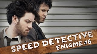 SPEED DETECTIVE - Qui a tué Mr Evrard ? [ENIGME]