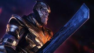 WHAT THANOS' SWORD IS MADE OF EXPLAINED BY THE DIRECTORS OF AVENGERS ENDGAME