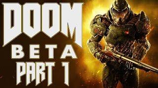 "Doom (2016) - Multiplayer Beta - Let's Play - Part 1 - ""It's Not Unusual"""