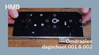 Instructiefilm - omdraaien dagschoot serie 001-002