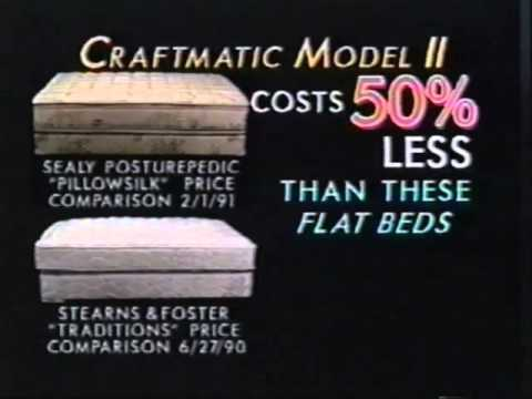 craftmatic 2 bed ad - youtube