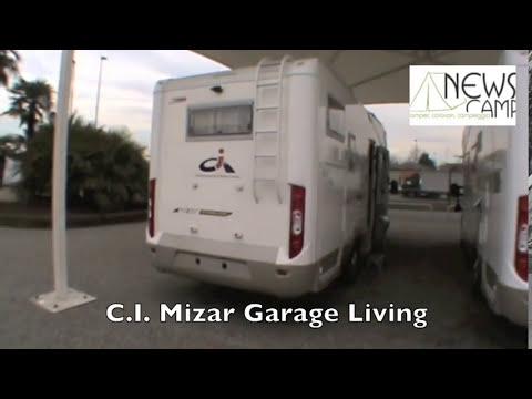 Camper c i mizar garage living youtube for Mizar youtube