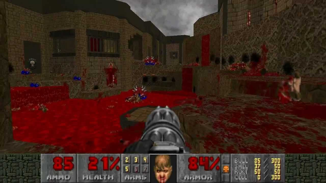 Xbox Live Exclusive Doom 2 Maps No Rest For The Living Map05