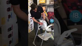 Joie Snacker high chair seat cover removal
