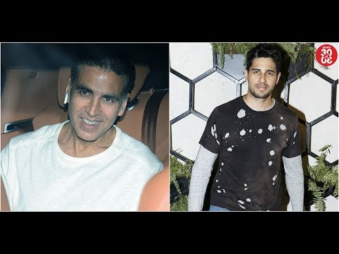 Akshay Kumar On A Holiday With Family In Hong Kong  Sidharth On Doing A Cameo In 'SOTY 2'