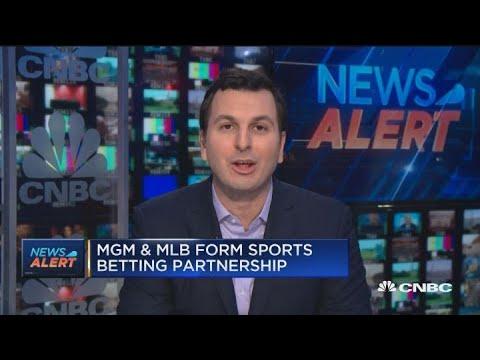 MGM and MLB enter sports gambling partnership