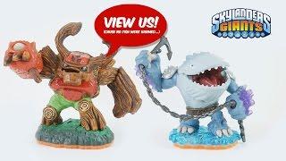 Skylanders Giants All Toy Figures unboxed