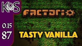 Factorio 0.15 Tasty Vanilla Ep 87: Power Boost - Expensive Recipes, Let