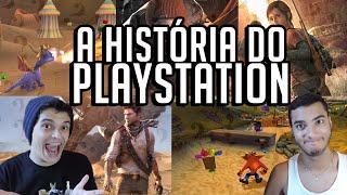 A HISTÓRIA DO PLAYSTATION - VS Games