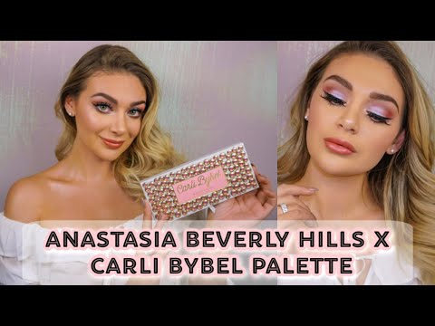 CARLI BYBEL X ANASTASIA BEVERLY HILLS PALETTE TUTORIAL & REVIEW! | LUCY thumbnail