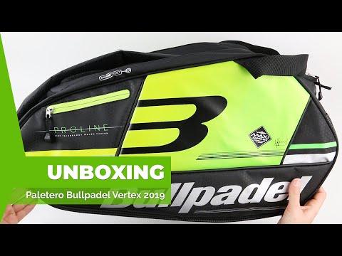 Paletero Bullpadel BPP-19001 Vertex 2019 from YouTube · Duration:  2 minutes 27 seconds