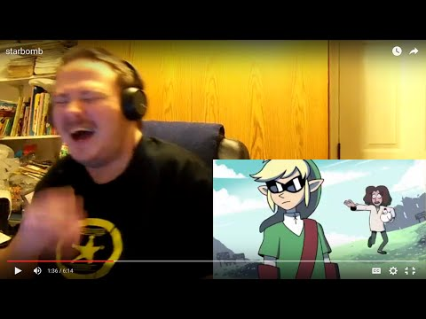 Ranger Reacts: 2nd BEST Zelda Rap EVER!!!! - ANIMATED MUSIC VIDEO by Studio Yotta - Starbomb