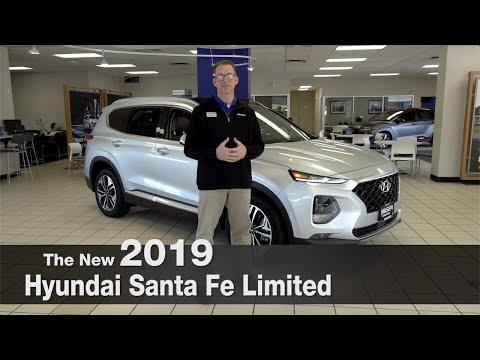 New 2019 Hyundai Santa Fe Limited | Brooklyn Park | St Louis Park | Minneapolis | Bloomington | MN