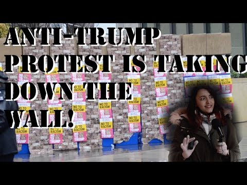 A Hilarious Anti-Trump Protest at the New US Embassy in London