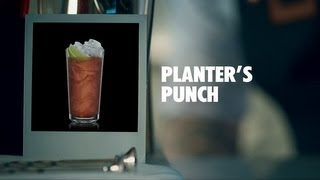 PLANTERS PUNCH DRINK RECIPE - HOW TO MIX