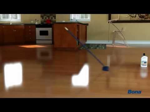 How to polish hardwood floors with Bona