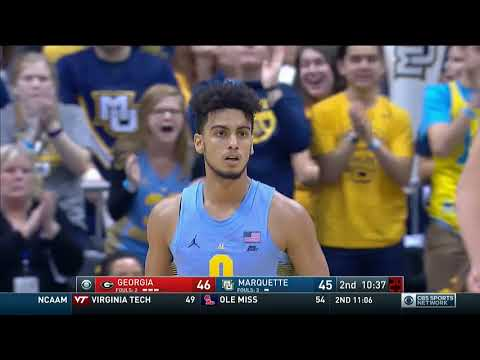 #BIGEASThoops Highlights: Marquette vs. Georgia