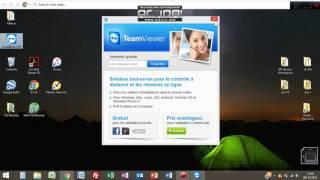 TUTO - TeamViewer / comment prendre la main sur un autre PC / Ordinateur