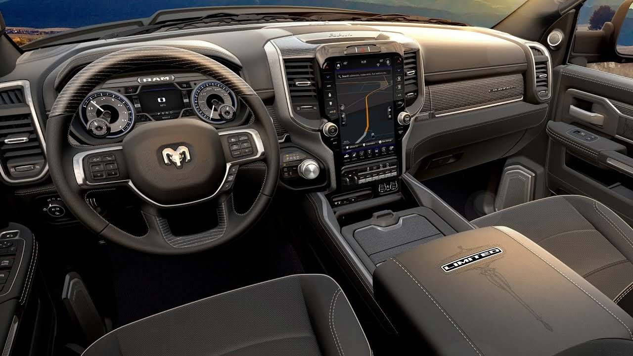 2019 Ram 5500 Chassis Cab Interior - YouTube