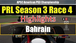 F1 2013 -Online League Race- PRL APSC Season3 Race4 Abu Dhabi Highlights