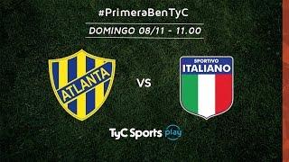 Atletico Atlanta vs Sportivo Italiano full match