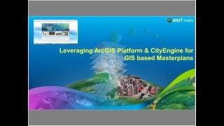 leveraging arcgis platform cityengine for gis based master plans