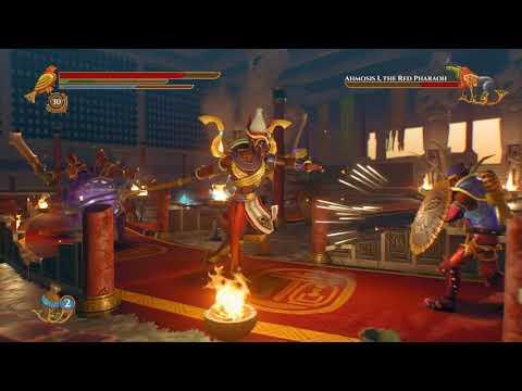 Pharaonic-Ahmosis I Final Boss Battle-The Black Pharaoh Achievement |