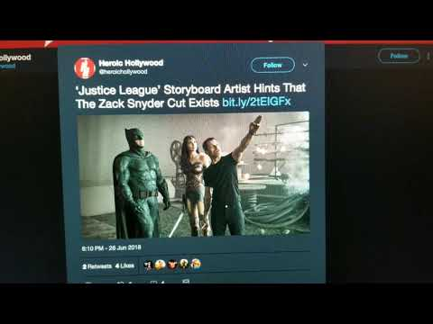 Yeah, Jay Oliva Only 'Hinted' the Snyder Cut is Real...